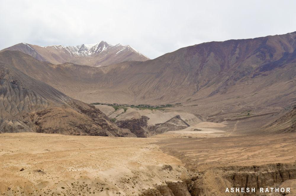 Village of khardungla by asheshrathor