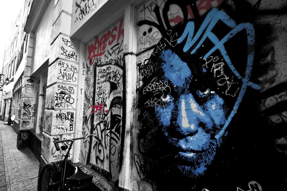Blue Dam by Alexbage