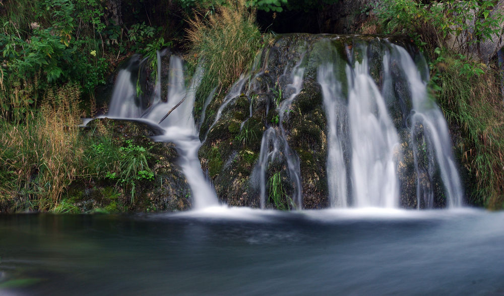 Part of the waterfall  by Nataly Foto