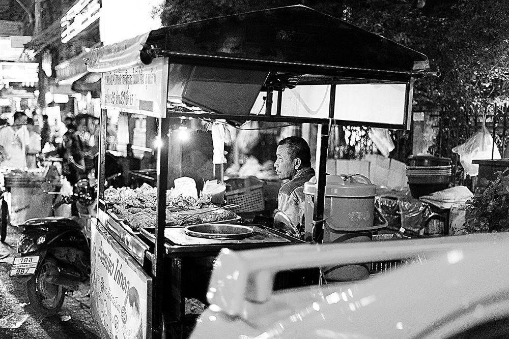Streets of Bangkok, Bangkok, 2013 by Zeno Bresson