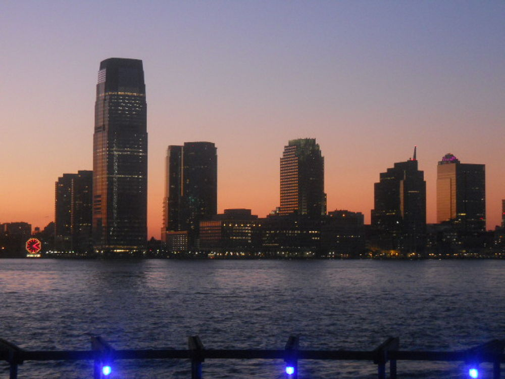 Jersey City sunset by mark12