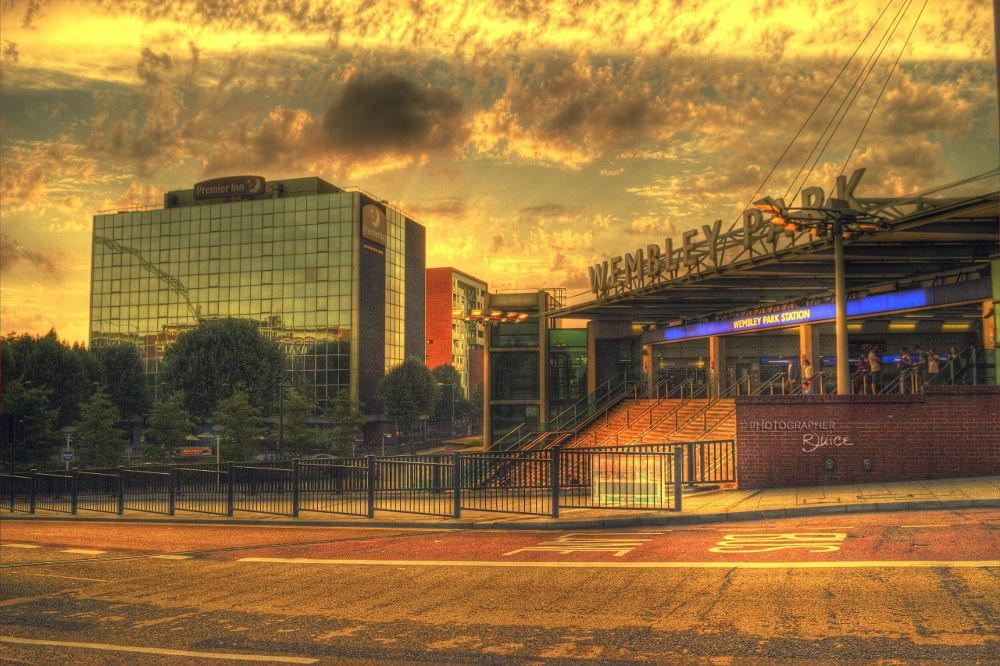 Wembley Park Station by Roland Juice