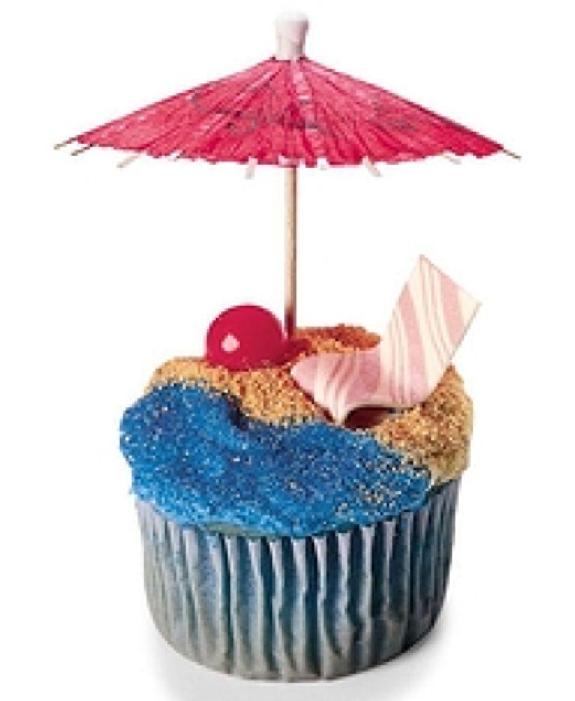 beach cupcake by maddiespics01