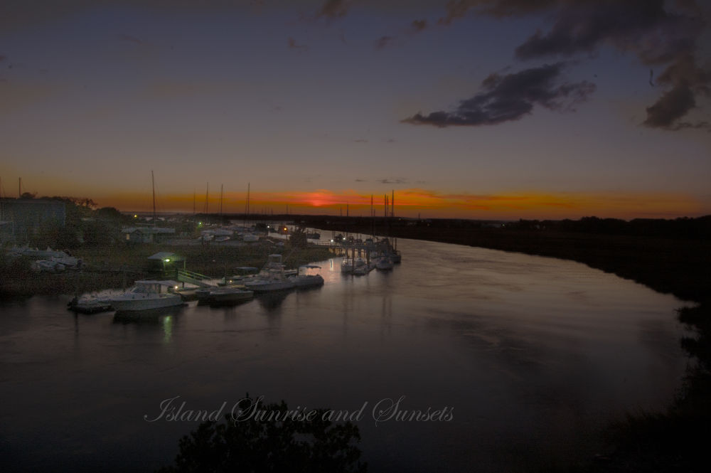 Island Sunrise and Sunsets 51 by pjorrie1