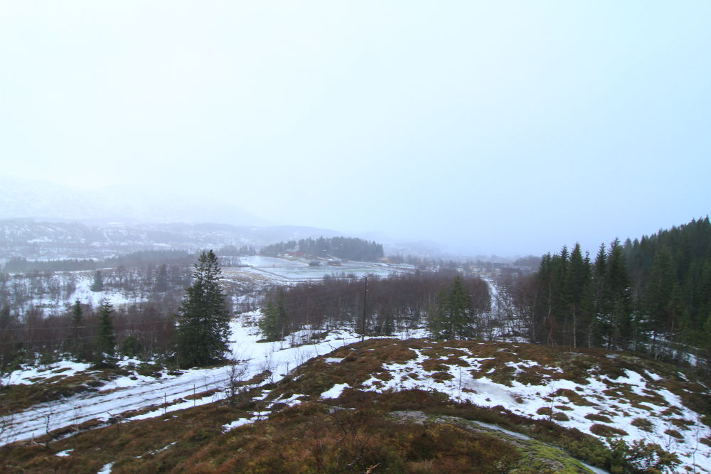 not much snow left but it will soon snow again its getting colder by the minute by vidar mathisen