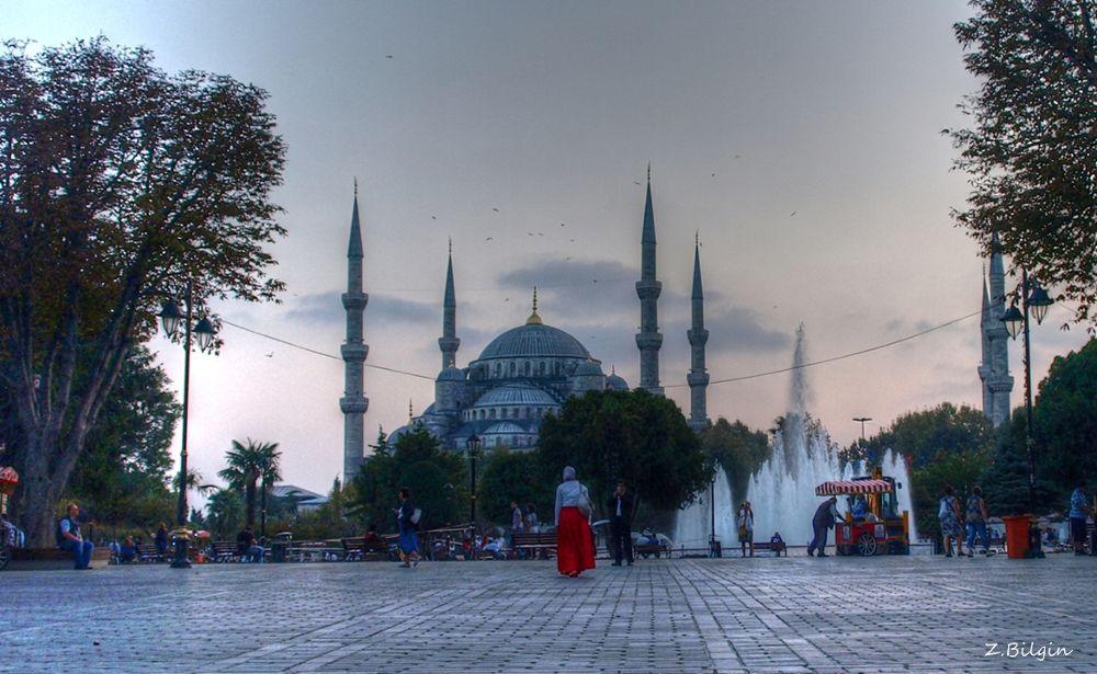 Sultanahmet Camii (İstanbul /Turkey) by zekibilgin