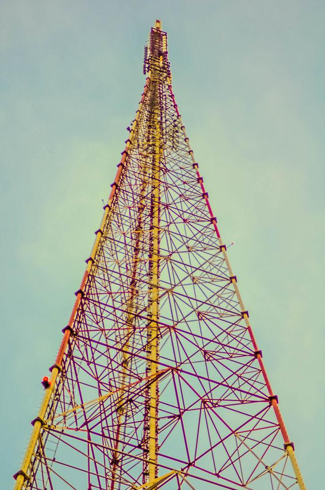 Antenna TV station in jakarta by IwanZazuli