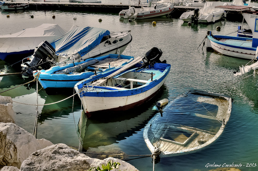 boats (2) by GiroPhoto - Girolamo Cavalcante