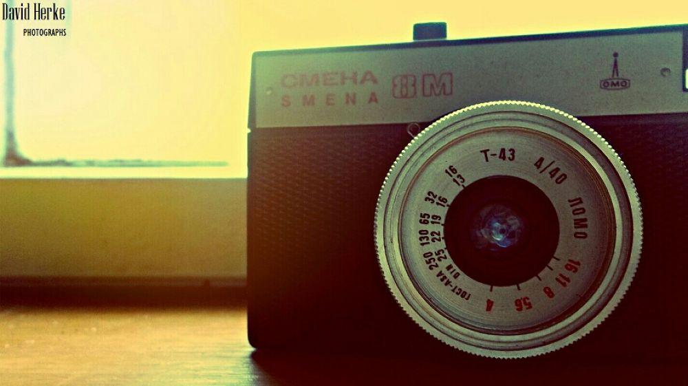 Cmeha Smena 8M camera by DavidHerkePhotographs