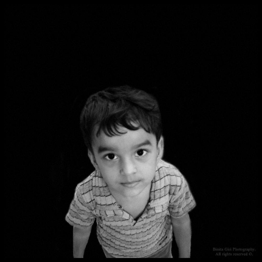 Boy by binitagiri