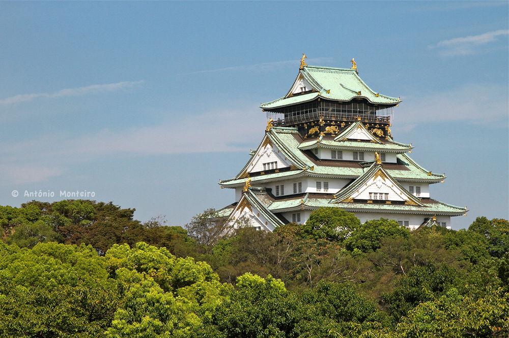 Osaka Castle  by António Monteiro