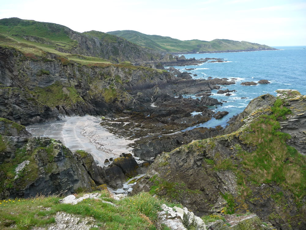 Wild Devon coast by robertp7