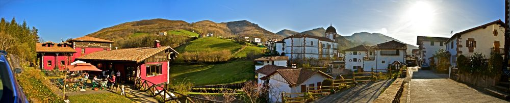 panorama pueblo zugarramurdi by jonmant