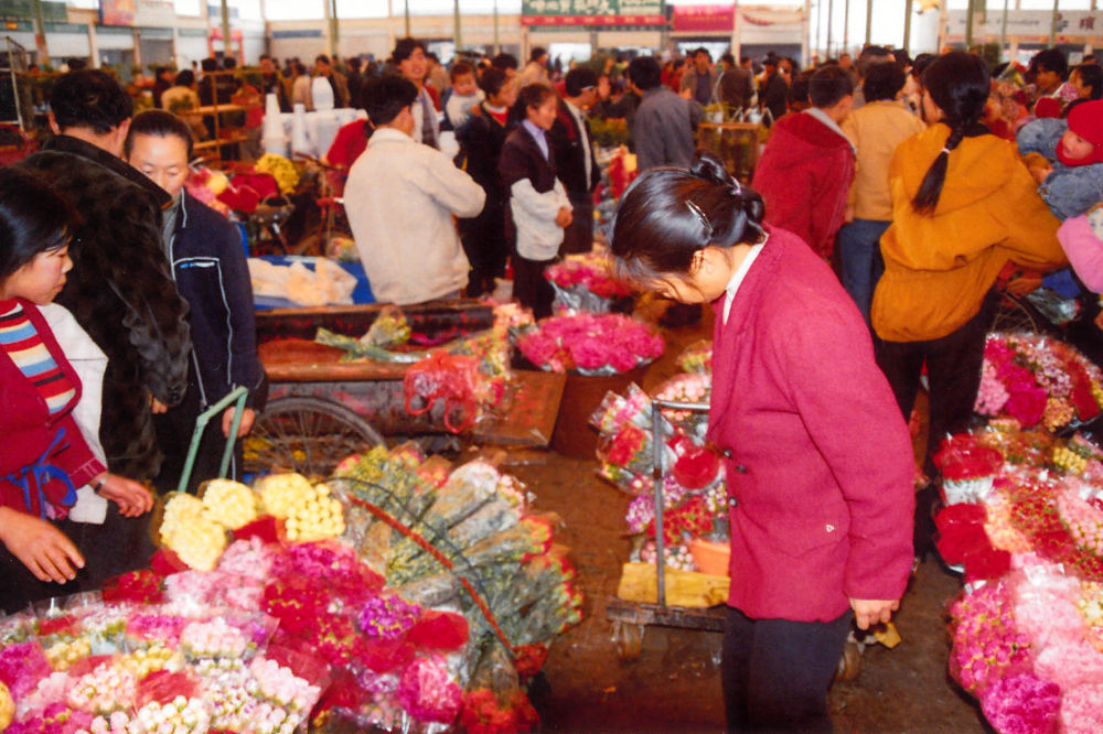 Yunnan_Kunming_Flower_Market_007 by Arie Boevé