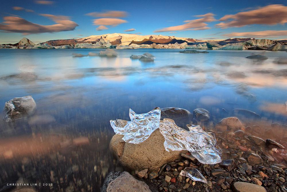 Photo in Random #iceland #icelandic landscapes #jokulsarlon glacier lagoon #south island