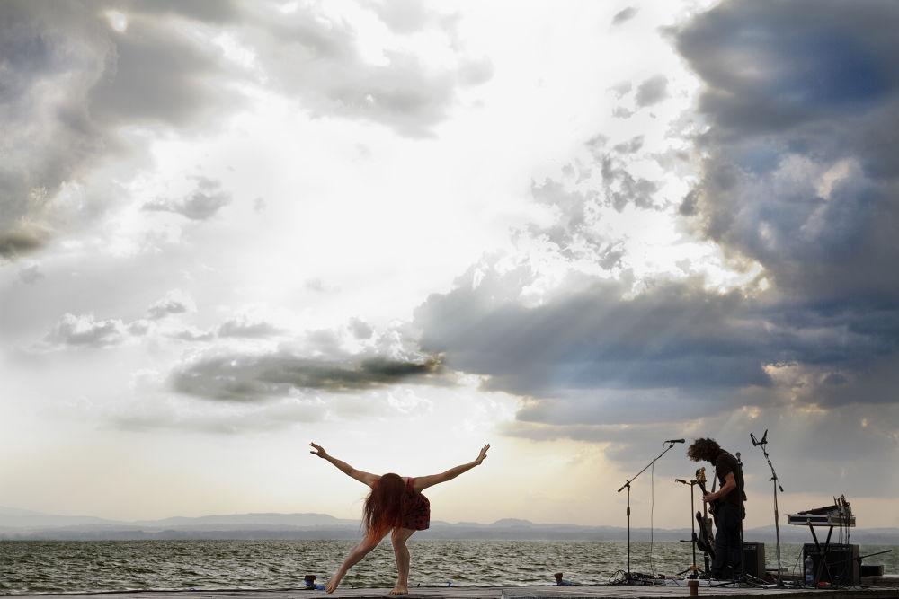 Music for sunset #1 by salvatoreCerniglia