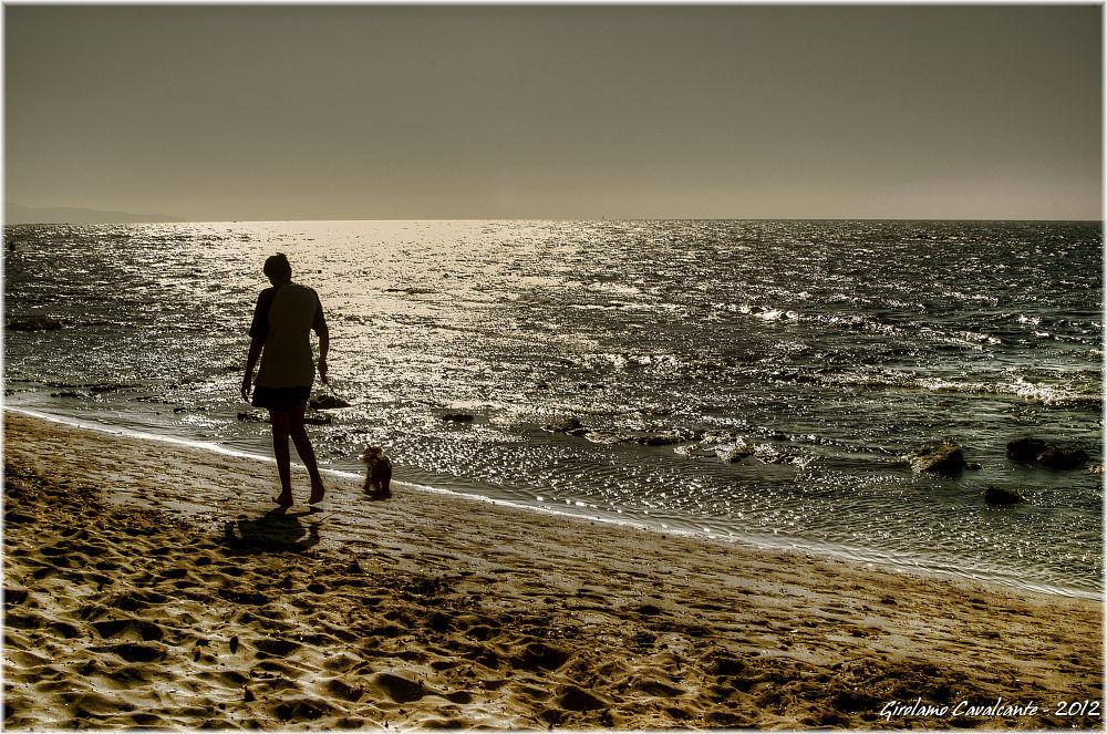 Summer dog walk by GiroPhoto - Girolamo Cavalcante