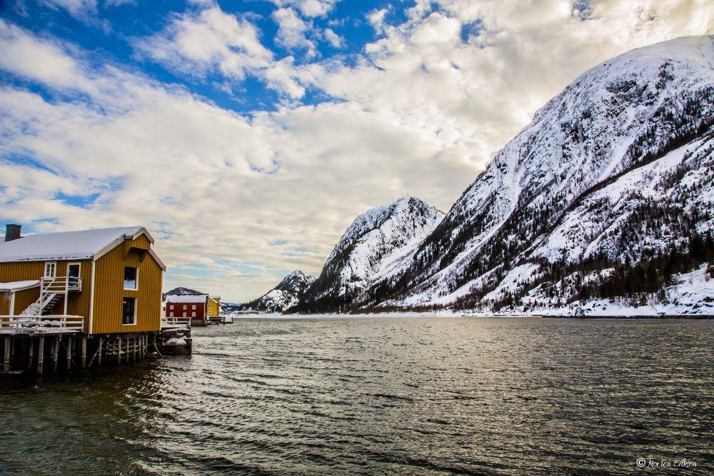 The Andreas Bridge, Mosjøen by Morten Eriksen