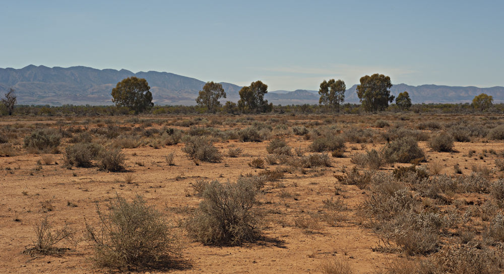 Approching Flinders Ranges by tcbenneyworth