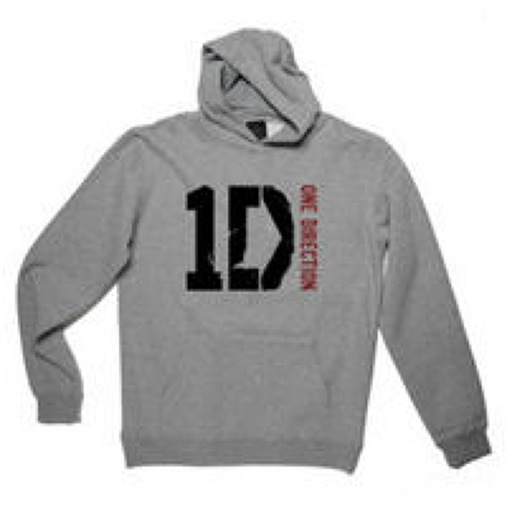 One-Direction-One-Direction-Logo-Youth-Grey-Hoodie by KaylinOfficial17