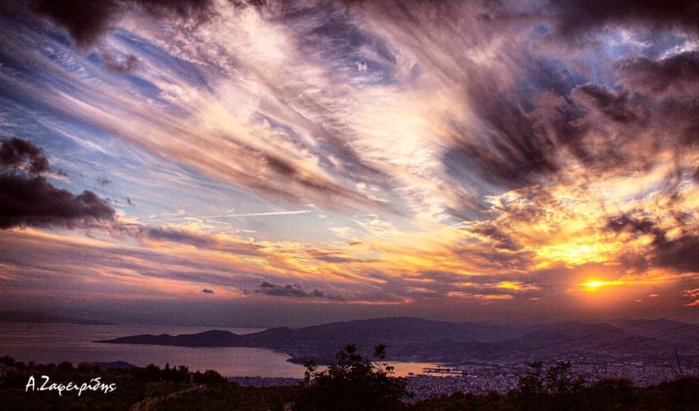 Volos from above.... by aZafeiridis