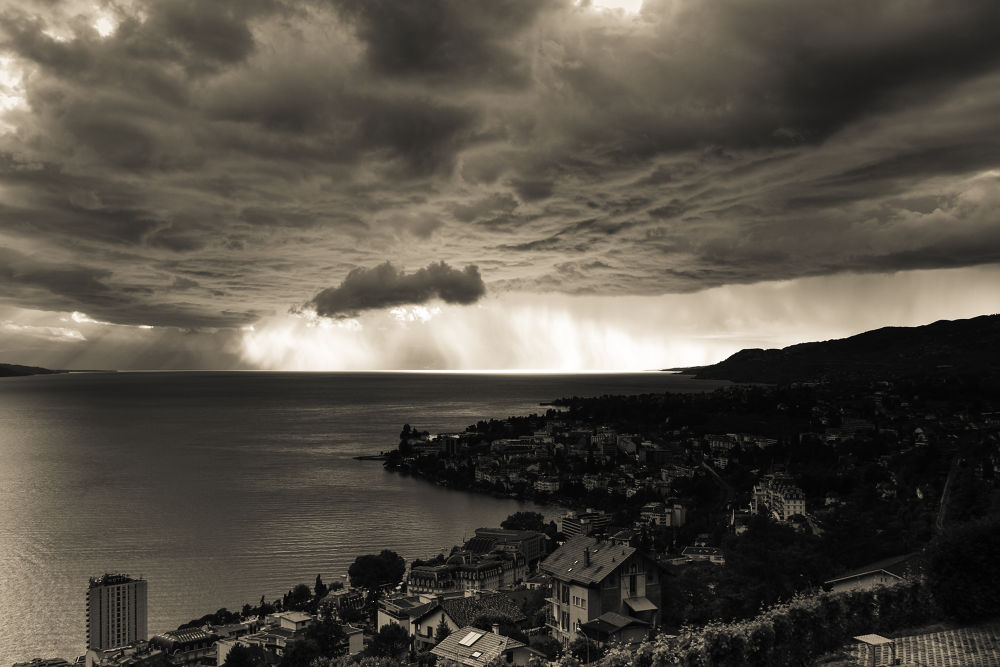 "Storm over ""Lac Lèman"" by RastislavDurica"