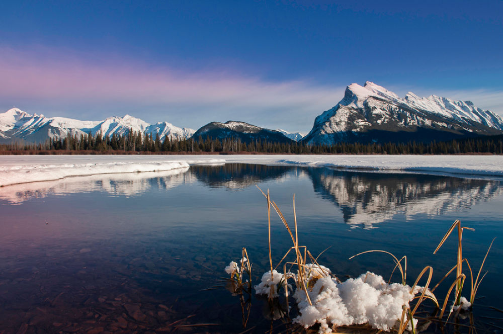 Mount Rundle by minky56