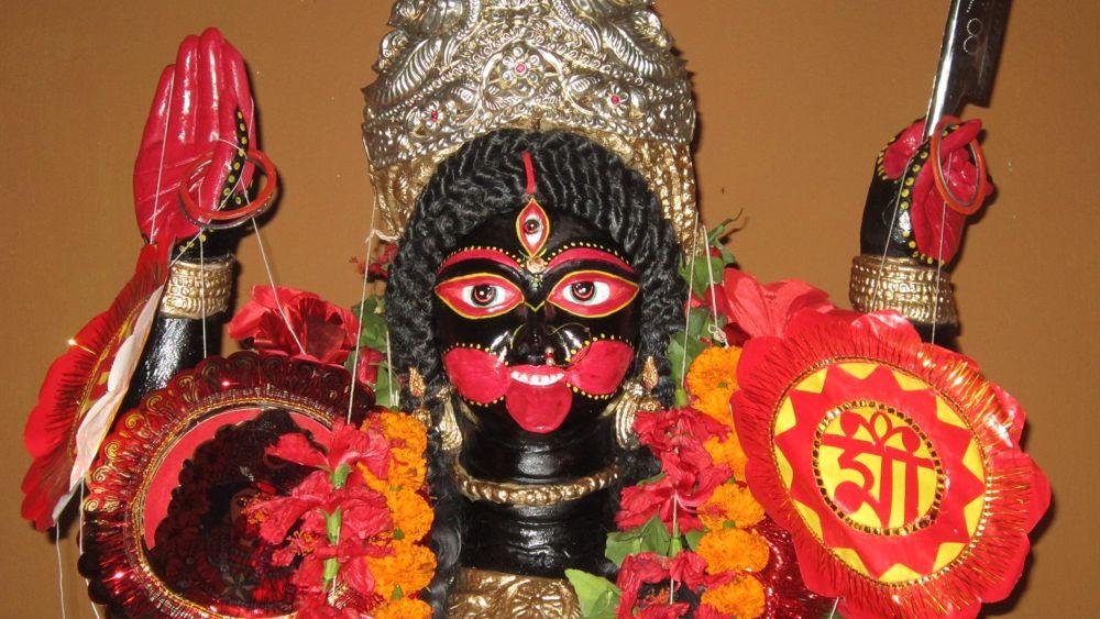 Hindu Goddess Maa Kali by subhamoy mishra