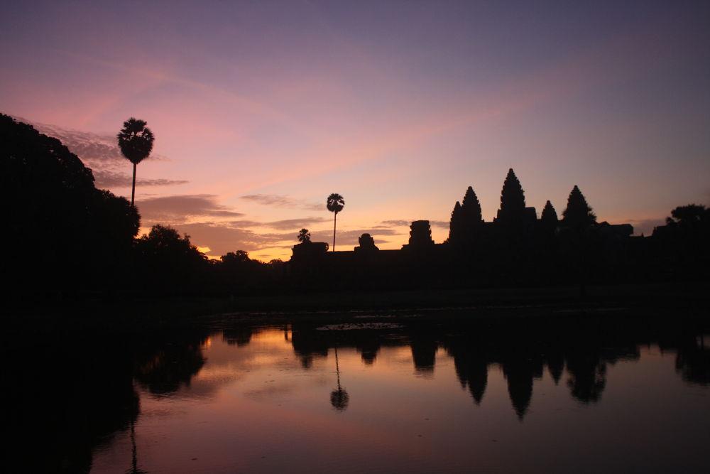 Sunrise at Angkor wat, 5 a.m. by RichardWynne