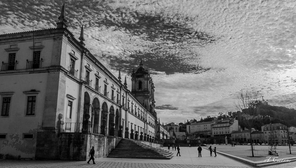 Mosteiro de Alcobaça by acaetano
