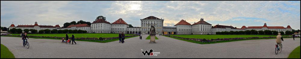 Nymphenburg Palace panoramaXX by wessamonsy1