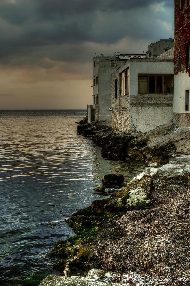 seashore before sunset by GiroPhoto - Girolamo Cavalcante