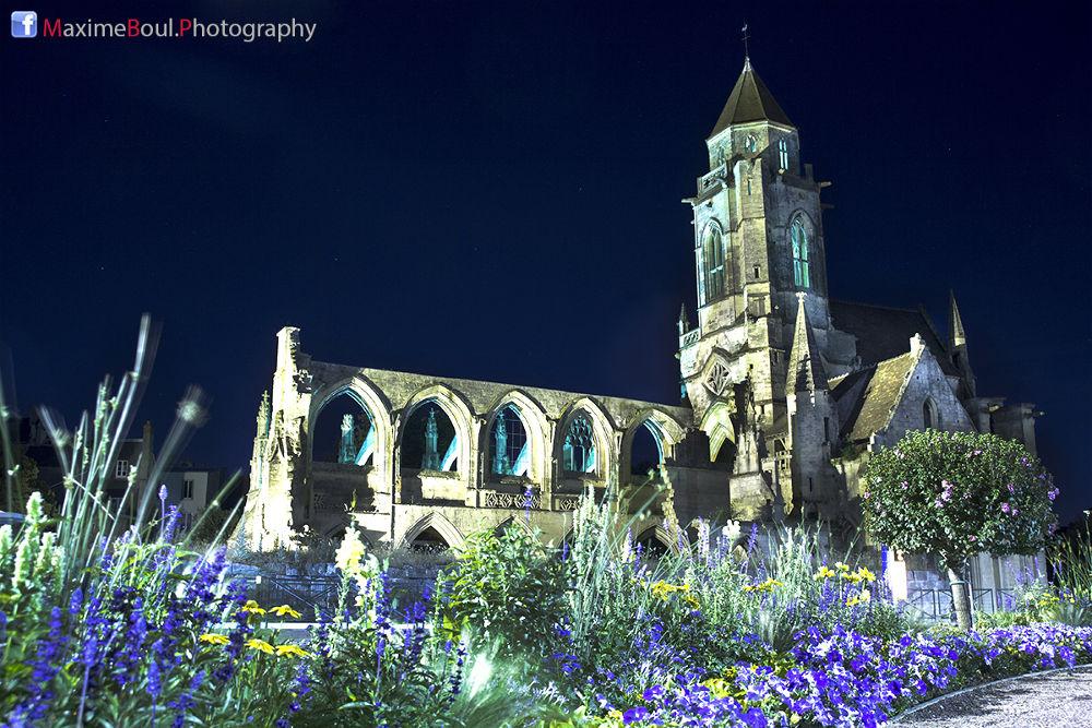 Eglise Saint-Etienne-le-Vieux - Caen, France by maximeboulphotography