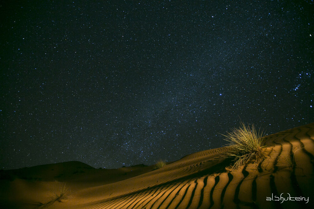 sand dunes by Humoud Al-Shukeiry