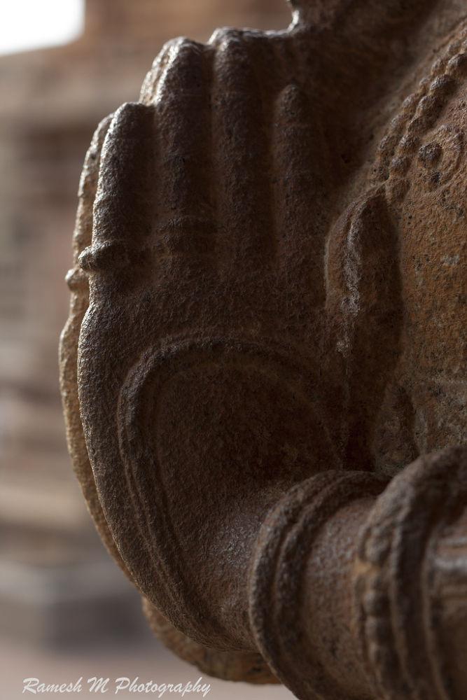 Dravidian Sculpture work by Ramesh Muthaiyan