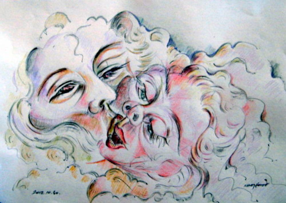 Csókolózók by NagyJozsef
