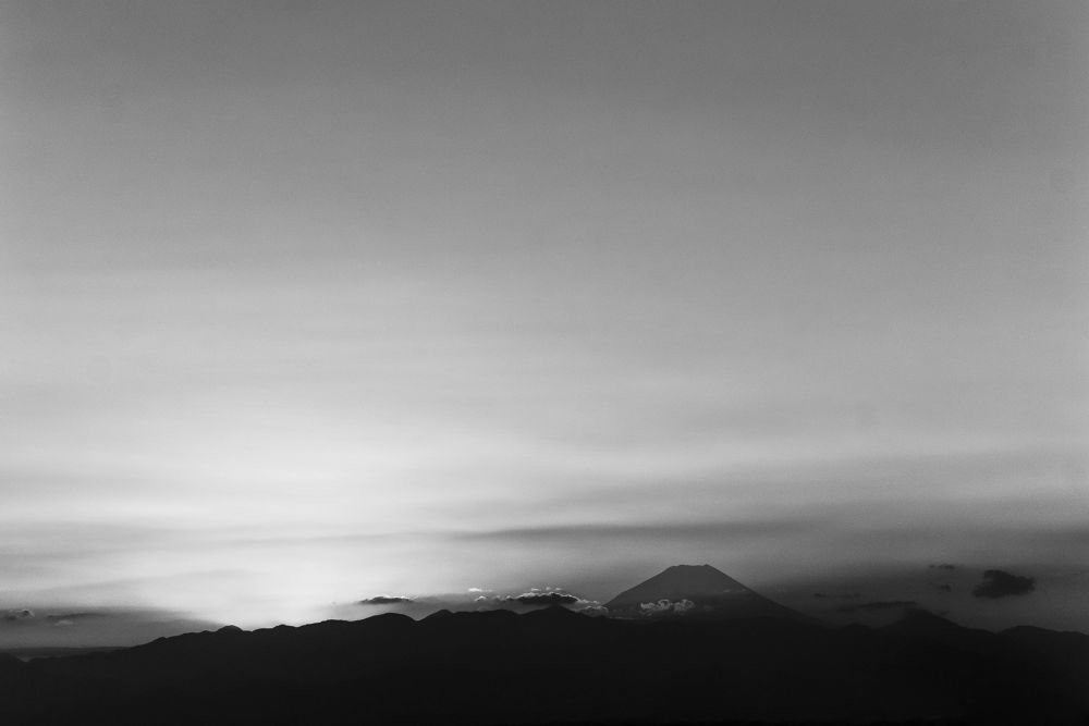 _Fuji Sunset by deandrescott7