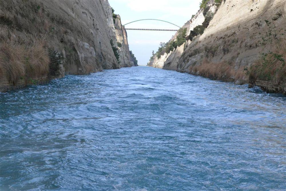 Corinth Canal. GREECE by georgelampri