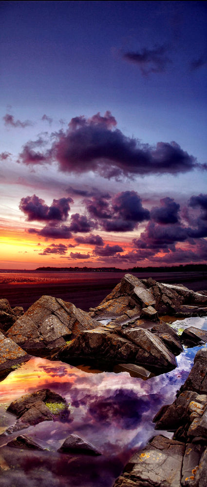PURPLE SUNSET by klepherone