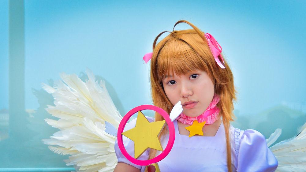 Cute Angel by riojfebriano