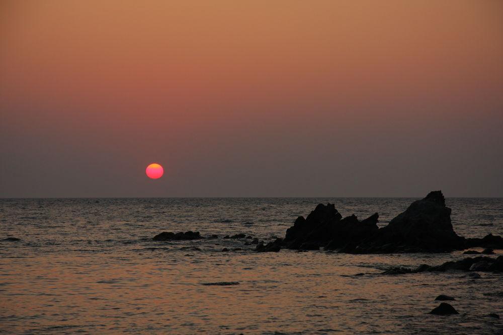 Sunset in Molivos by Atila_Yumusakkaya