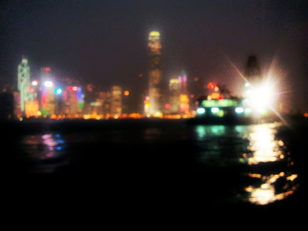 Sea at night by leocary