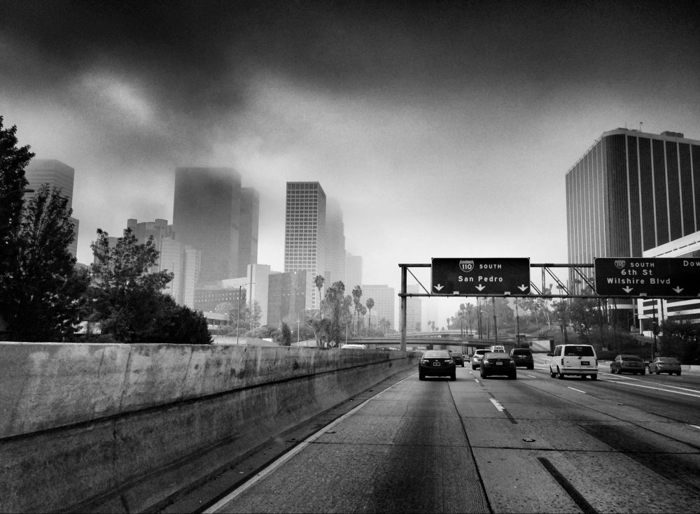 LA Smog by AndyHarrison