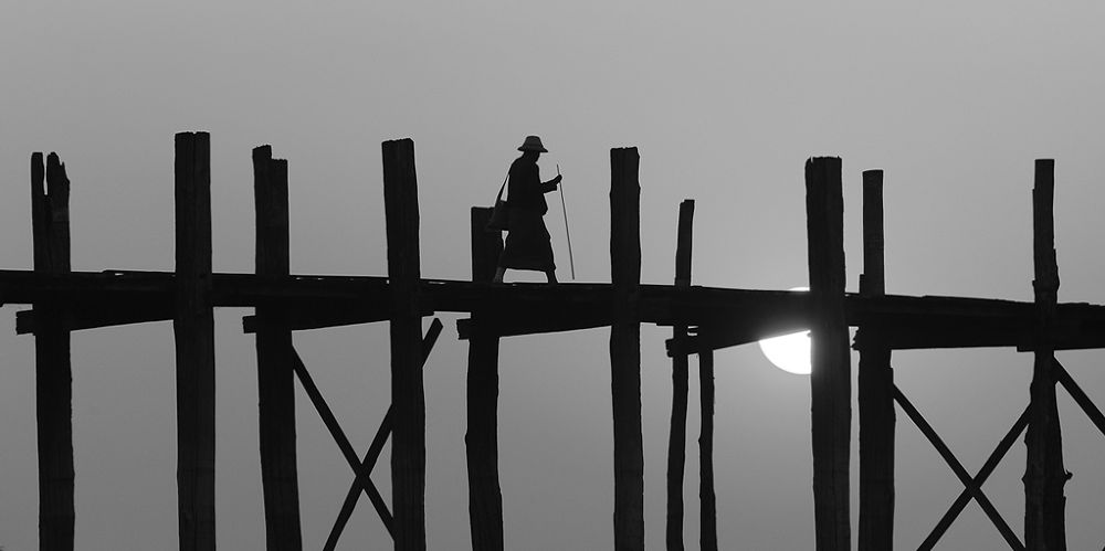 the pilgrim by heinz homatsch