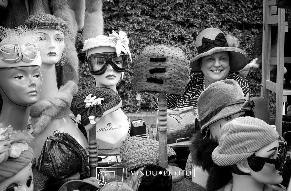 vintage hats by vinduphoto