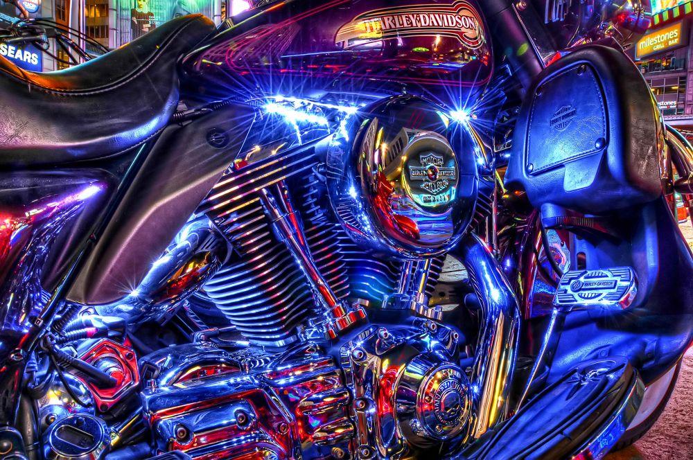 Photo in Random #hdr #colors #travel #harley #bike #motorbike #harley davidson #clessic