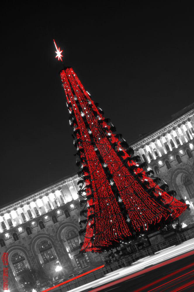 Christmas Tree in Republic square by Kar Yan