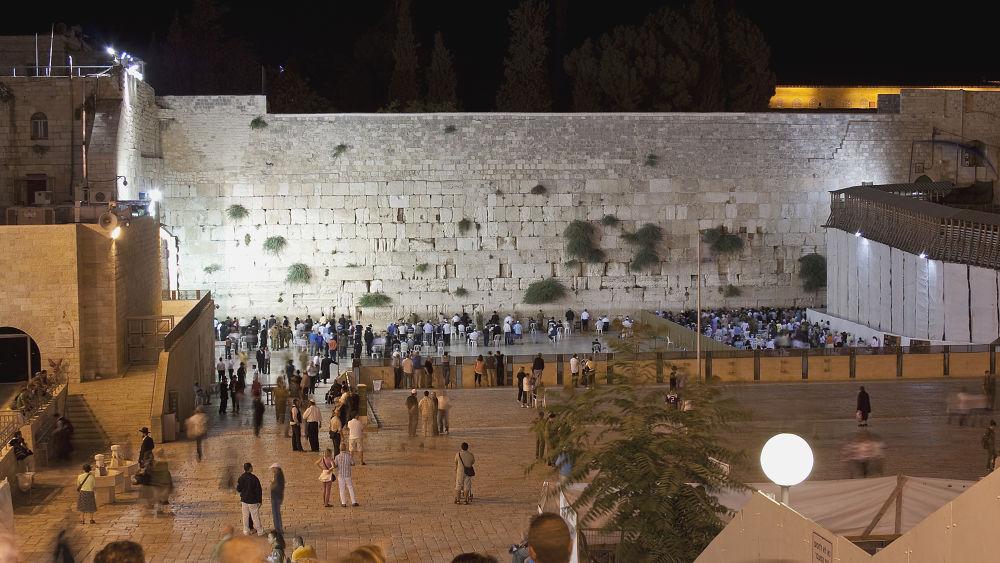 Western Wall, Jerusalem by Shimon Aluf