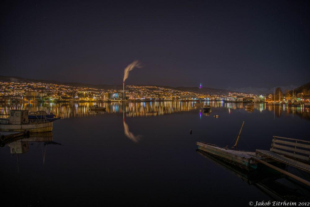 Evening in Harstad by Jakob Eitrheim