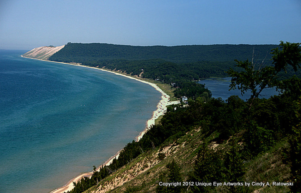 Sleeping Bear National Lakeshore by Uniqueeyeartworks